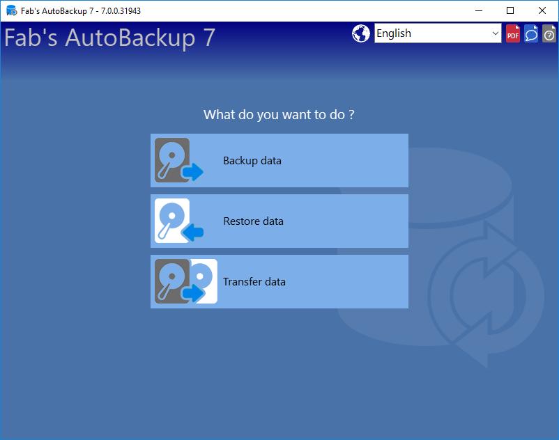 Fab's AutoBackup 7 Pro, Fabrice PARISOT